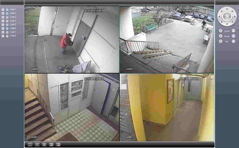 Записи с камер видеонаблюдения в Москве